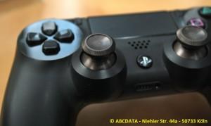 PS4 Controller Ansicht von hinten