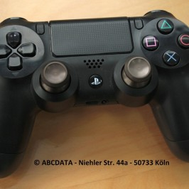 PS4 Controller Totalansicht mit Alu Analog- Stick